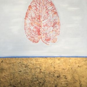 Breath of Autumn (Gold) Maria Tinkoff Modern Art
